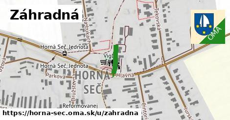 ilustrácia k Záhradná, Horná Seč - 171m