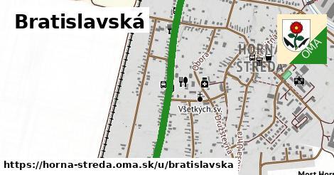 ilustrácia k Bratislavská, Horná Streda - 1,16km