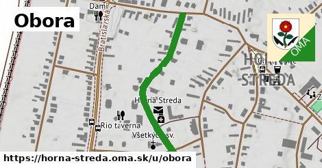 ilustrácia k Obora, Horná Streda - 365m