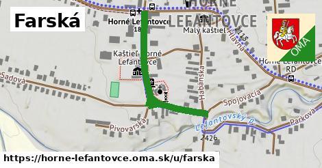 ilustrácia k Farská, Horné Lefantovce - 360m