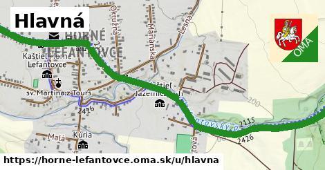 ilustrácia k Hlavná, Horné Lefantovce - 2,00km