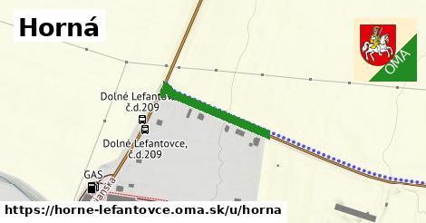 ilustrácia k Horná, Horné Lefantovce - 210m
