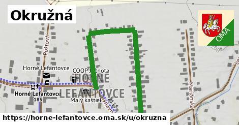 ilustrácia k Okružná, Horné Lefantovce - 634m