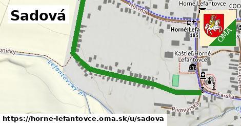 ilustrácia k Sadová, Horné Lefantovce - 647m
