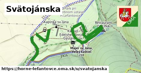 ilustrácia k Svätojánska, Horné Lefantovce - 0,94km