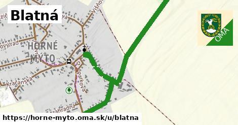 ilustrácia k Blatná, Horné Mýto - 667m