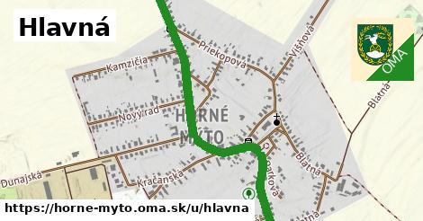 ilustrácia k Hlavná, Horné Mýto - 1,27km