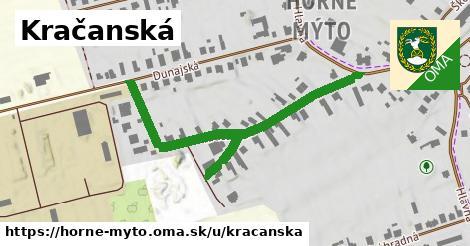 ilustračný obrázok k Kračanská, Horné Mýto