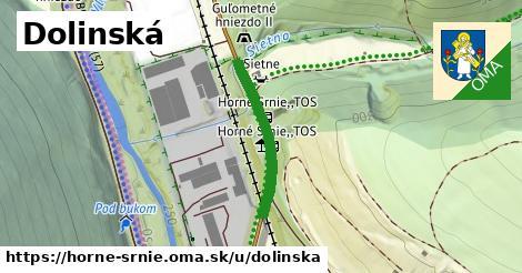 ilustrácia k Dolinská, Horné Srnie - 235m