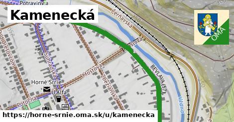 ilustrácia k Kamenecká, Horné Srnie - 0,72km