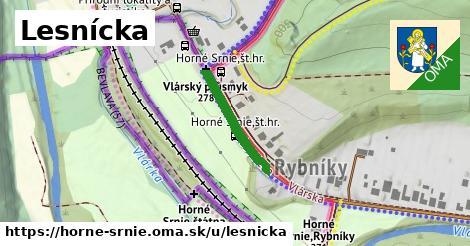 ilustrácia k Lesnícka, Horné Srnie - 186m