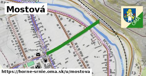 ilustrácia k Mostová, Horné Srnie - 313m