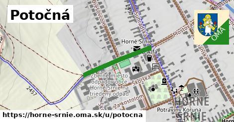 ilustrácia k Potočná, Horné Srnie - 230m