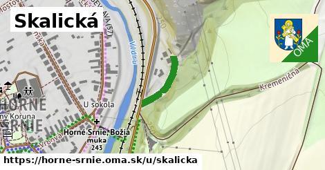 ilustrácia k Skalická, Horné Srnie - 149m