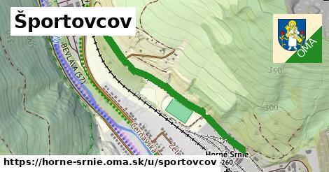 ilustrácia k Športovcov, Horné Srnie - 0,96km