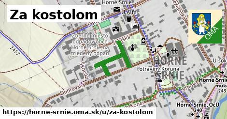 ilustrácia k Za kostolom, Horné Srnie - 245m