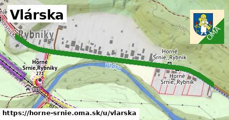 ilustrácia k Vlárska, Horné Srnie - 664m