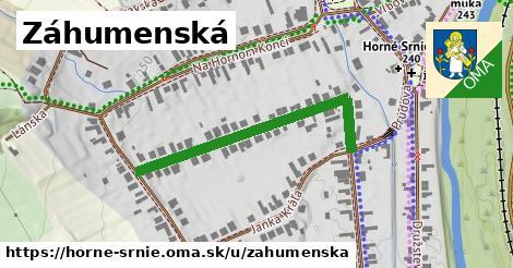 ilustrácia k Záhumenská, Horné Srnie - 404m