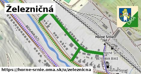 ilustrácia k Železničná, Horné Srnie - 533m