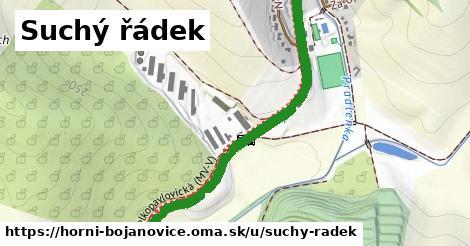 ilustrácia k Suchý řádek, Horní Bojanovice - 1,58km