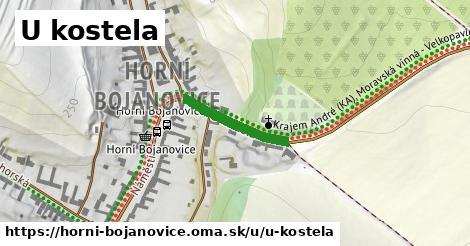 ilustrácia k U kostela, Horní Bojanovice - 180m