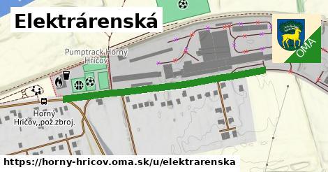 ilustrácia k Elektrárenská, Horný Hričov - 461m