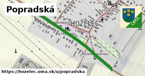 ilustrácia k Popradská, Hozelec - 500m