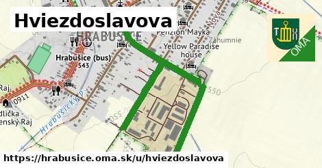 ilustrácia k Hviezdoslavova, Hrabušice - 1,26km