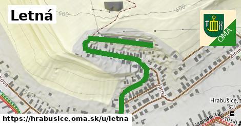ilustrácia k Letná, Hrabušice - 632m