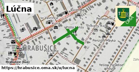 ilustrácia k Lúčna, Hrabušice - 196m