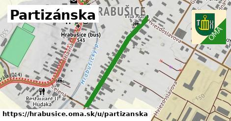 ilustrácia k Partizánska, Hrabušice - 340m