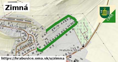 ilustrácia k Zimná, Hrabušice - 295m