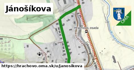 ilustrácia k Jánošíkova, Hrachovo - 468m