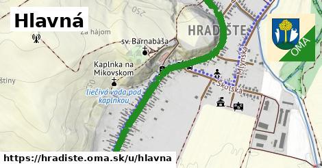 ilustrácia k Hlavná, Hradište - 1,57km