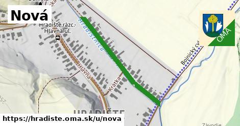 ilustrácia k Nová, Hradište - 362m