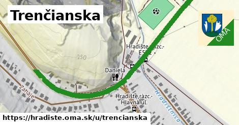 ilustrácia k Trenčianska, Hradište - 670m
