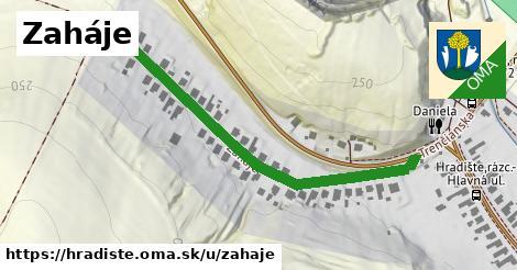 ilustrácia k Zaháje, Hradište - 537m