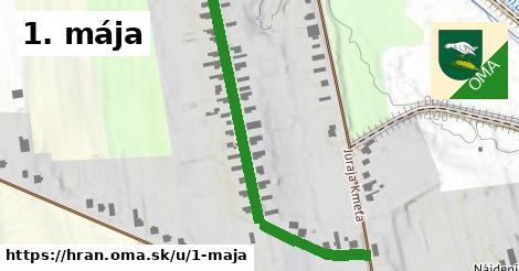 ilustrácia k 1. mája, Hraň - 605m