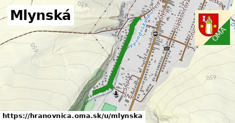 ilustrácia k Mlynská, Hranovnica - 0,75km