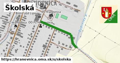 ilustrácia k Školská, Hranovnica - 294m