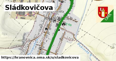 ilustrácia k Sládkovičova, Hranovnica - 1,15km
