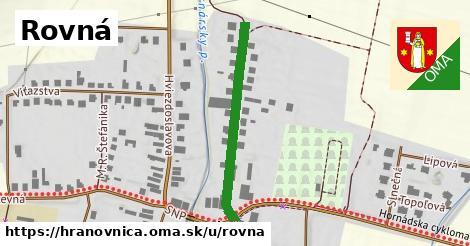 ilustrácia k Rovná, Hranovnica - 313m