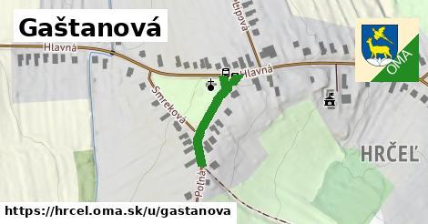 ilustrácia k Gaštanová, Hrčeľ - 169m