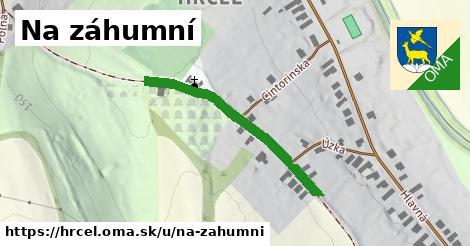 ilustrácia k Na záhumní, Hrčeľ - 1,19km