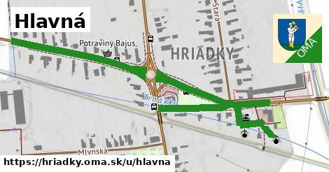 ilustrácia k Hlavná, Hriadky - 577m
