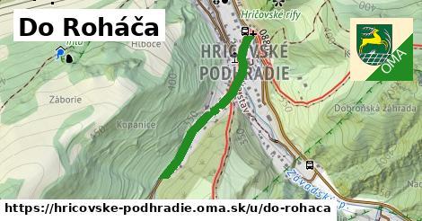 ilustrácia k Do Roháča, Hričovské Podhradie - 608m