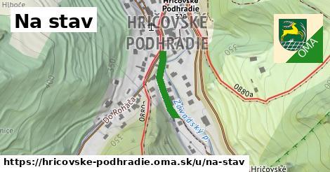 ilustračný obrázok k Na stav, Hričovské Podhradie