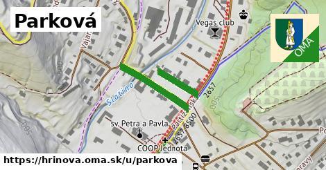ilustrácia k Parková, Hriňová - 561m