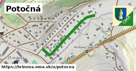 ilustrácia k Potočná, Hriňová - 394m
