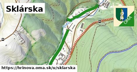 ilustračný obrázok k Sklárska, Hriňová